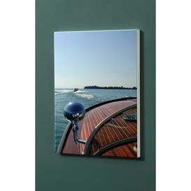 image-Riva Boat Magnetic Wall Mounted Photo Memo Board