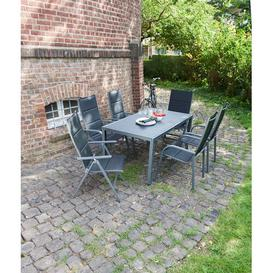 image-Pomerleau Extendable Steel Dining Table Sol 72 Outdoor