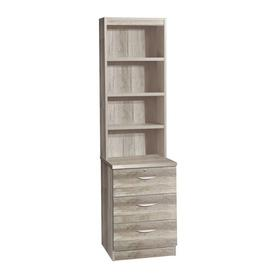 image-3 Drawer CD/DVD Storage Unit Gracie Oaks Colour: Grey Nebraska