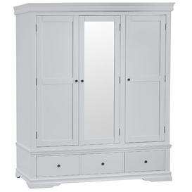 image-Evesham Large 3 Door Wardrobe