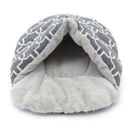image-Wendy Round Cat Bed Archie & Oscar Colour: Grey