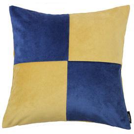 image-Ephialtes Outdoor Cushion Brayden Studio Colour: Ochre/Navy, Size: 60 x 60cm