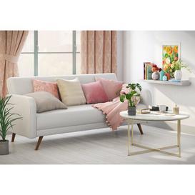 image-Rosamond Curtains ClassicLiving Size per Panel: 167.64 W x 182.88 D cm, Colour: Pink