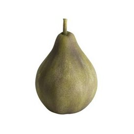 image-Hill Large Apple Outdoor Aged Stone Ornament
