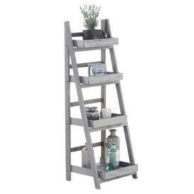 image-Aliyah Plant Stand Lily Manor Colour: Dark brown