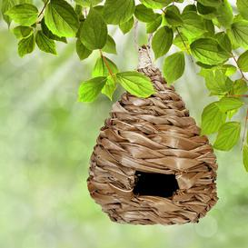 image-Fava Hanging Bird House Bay Isle Home