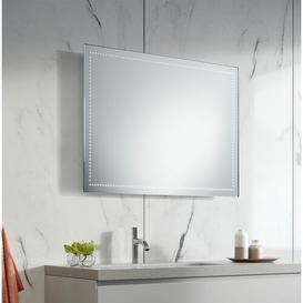 image-Maisie LED Illuminated Bathroom Mirror Wade Logan Size: 65cm H x 120cm W x 3.2cm D