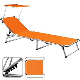 image-Sylt Reclining Sun Lounger Symple Stuff