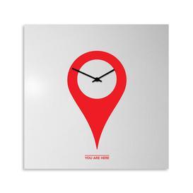 image-You Are Here Wall Clock Brayden Studio