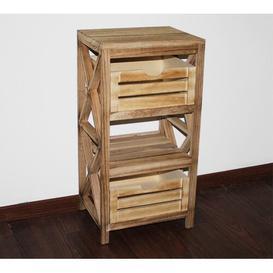 image-Monadnock 37.5 x 70cm Free-Standing Bathroom Cabinet