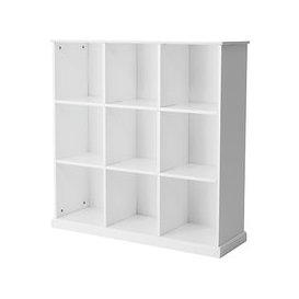 image-Great Little Trading Co Abbeville Nine Cube Storage Unit, White
