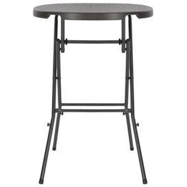 image-Askins Folding Steel Bar Table Sol 72 Outdoor