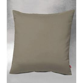image-Lech Cotton Pillow Cover Fleuresse Colour: Taupe