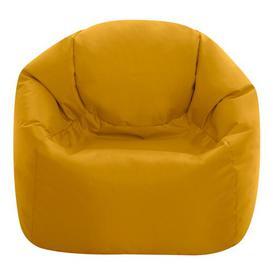 image-Medium Kids Hi-Rest Bean Bag Chair Symple Stuff Upholstery Colour: Ochre Yellow