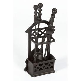 image-Waucoba 4 Piece Fireplace Tool Set Union Rustic