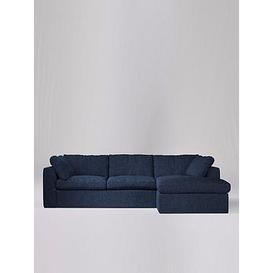 image-Swoon Seattle Fabric Right Hand Corner Sofa - Soft Wool