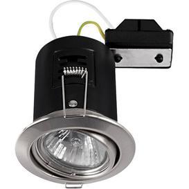 image-8cm Recessed Lighting Kit Symple Stuff Trim Finish: Brushed Chrome, Bulb Colour Temperature: No Bulb
