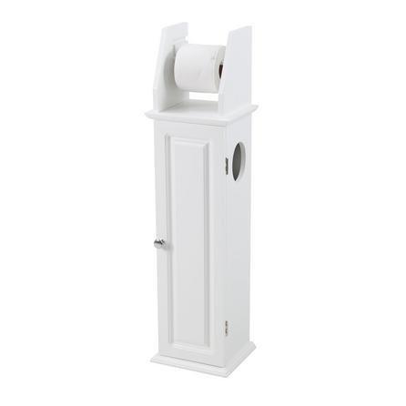 image-Veneto Toilet Roll Holder White