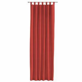 image-Loneta Tab Top Single Curtain Dekoria Size per Panel: 130 W x 260 D cm, Colour: Red