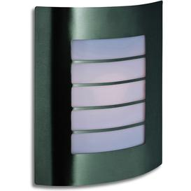 image-Firstlight 6408 Prince Modern Stainless Steel Exterior Flush Wall Light