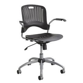 image-Desk Chair Symple Stuff Colour: Black