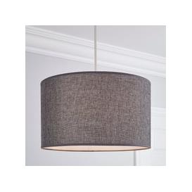 image-Carrie 40cm Drum Shade Grey