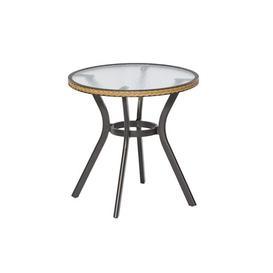 image-Aluminium Bistro Table Sol 72 Outdoor Colour: Black/Beige