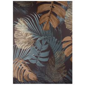 image-Foliage printed canvas 65x90cm