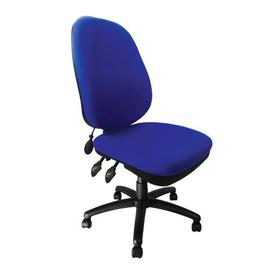 image-Carlisle High-Back Desk Chair Symple Stuff Colour: Blue
