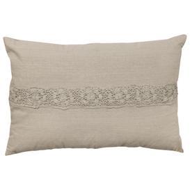 image-Large Linen Cushion
