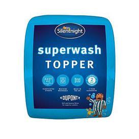 image-Silentnight Superwash Mattress Topper
