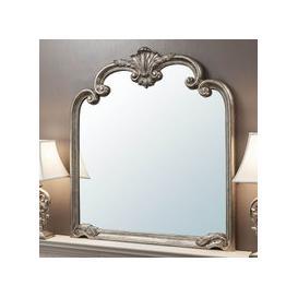 image-Palazzo 115x104cm Over Mantle Mirror Silver
