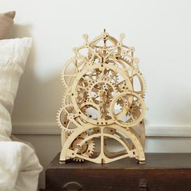 image-Pendulum Clock Sculpture