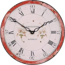 image-Antique Grandfather Dial 36cm Wall Clock