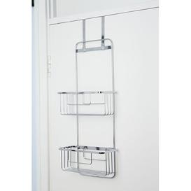 image-Metal Hanging Shower Caddy Croydex