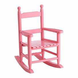 image-Noah Kids Rocking Chair August Grove Colour: Pink