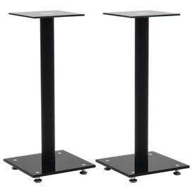 image-Pillar Design 58cm Fixed Height Speaker Stand Symple Stuff