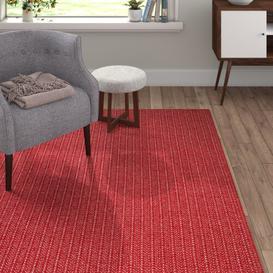 image-Gerhard Red Indoor/Outdoor Area Rug Brayden Studio Rug Size: Rectangle 60 x 150cm