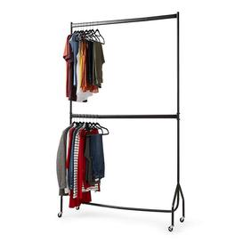 image-Two Tier Heavy Duty 4ft x 7ft Clothes Rail