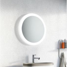 image-Dungan LED Illuminated Bathroom Mirror Brayden Studio