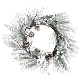 image-Snow 61cm Artificial Wreath Goodwill