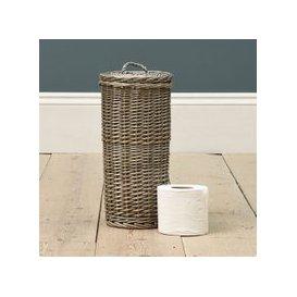 image-Toilet Roll Storage Basket