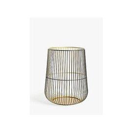 image-John Lewis & Partners Cage Lantern Candle Holder, Medium