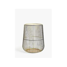 image-John Lewis & Partners Cage Lantern Candle Holder, Medium