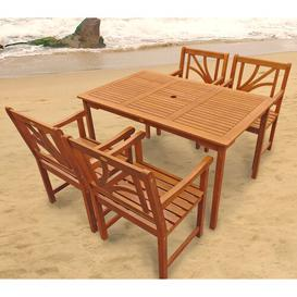 image-Adish 4 Seater Dining Set Sol 72 Outdoor