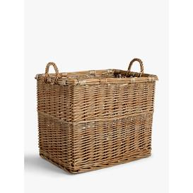 image-John Lewis & Partners Modern Country Wicker Log Basket
