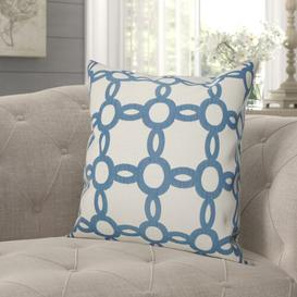image-Glines Cushion Cover Beachcrest Home Size: 45 x 45cm