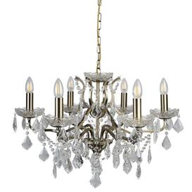 image-Dopkins 6-Light Candle-Style Chandelier Astoria Grand