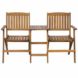 image-Binette Wooden Bench Sol 72 Outdoor
