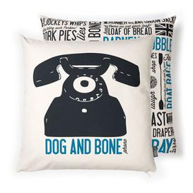 image-Dog and Bone Cushion